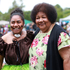 Titilia Fihaki and Rosalia Buliruania at Pasifika Festival. Photo / Doug Sherring