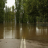 Flooded properties due to rising waters from the Mulwaree River are seen in Goulburn, Australia. Photo / Getty Images