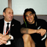 Jock Hobbs with Ma'a Nonu after an All Blacks win over Australia in 2009. Photo / Getty Images