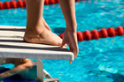 It is estimated an athlete can get a 0.3s advantage from the extra dive time. Photo / Thinkstock