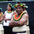 Performers prepare for the opening night of Pasifika Festival 2012. Photo / Sarah Ivey