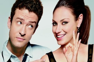 Justin Timberlake and Mila Kunis in Friends with Benefits. Photo / Supplied
