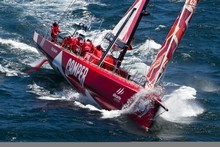 Team NZ's Camper.