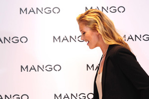 British Model Kate Moss is the new face of clothing store Mango. Photo / AP