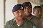 Commodore Frank Bainimarama. File photo / Greg Bowker