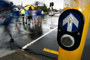 Countdown timers are expected to save lives in a city where 1500 pedestrians die every year on the roads. Photo / APN