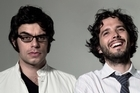 Flight Of The Conchords duo Jemaine Clement and Bret McKenzie. Photo / Supplied
