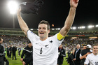 Ryan Nelsen should play a big part in Tottenham's run-in. Photo / File