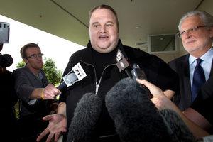Immigration New Zealand is standing by its decision to grant Kim Dotcom residency.. Photo / Brett Phibbs