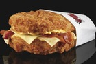 The popularity of the bun-less burger hurt KFC's profits as higher-margin items went unordered. Photo / Supplied