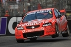 Jamie Whincup delivered a master class in driving at the opening round of the series in Adelaide for the Clipsal 500. Photo / Scott Wensley