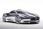 Infiniti has introduced its new mid-engined sports car concept, the Emerg-E. Photo / Supplied