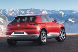 Volkswagen's Cross Coupe - the German giant's take on the future of the SUV. Photo / Supplied
