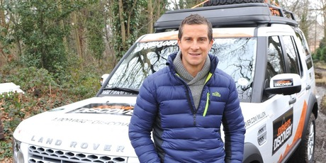Bear Grylls, kitted out for his Disco adventure. Photo / Supplied