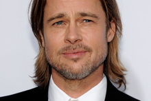 Hollywood stars like Brad Pitt might be able to get away with facial hair, but most women find clean-shaven men significantly more attractive, according to a new study. Photo / AP