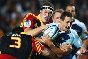 The Blues commited 15 handling errors in their 29-14 loss to the Chiefs. Photo / Getty Images