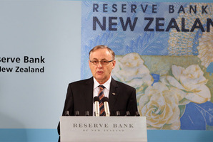 Reserve Bank Governor Alan Bollard. Photo / Mark Mitchell.
