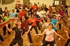 Bollyworx moves are 'about 80 per cent standard exercise moves and 20 per cent Bollywood choreography'. Photo / Supplied