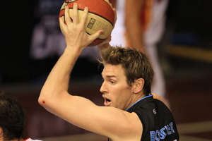 Dillon Boucher is confident his side can be repeat Australian NBL champions. Photo / Greg Bowker.