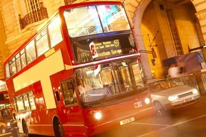 A London bus stop ad is getting attention for making a point that women in many places are still being denied choices due to poverty and discrimination. Photo / Thinkstock