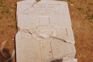 NZ War Grave in Benghazi, Libya. Photo / Supplied