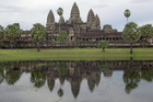 Cambodia's 12th-century Angkor Wat temple near Siam Reap. Photo / Jim Eagles