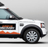 The millionth Land Rover Discovery being driven from Birmingham to Beijing. Photo / Supplied