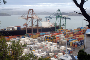 Lyttelton container wharf. File photo / NZPA