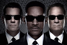 Josh Brolin, Will Smith and Tommy Lee Jones from Men In Black 3.