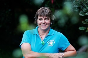 Fiona Gower at Harker Reserve. Photo / Richard Robinson