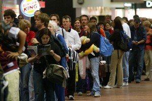 Waiting for an age in the check-in line due to mismanagement is a test of patience. Photo / Glenn Jeffrey