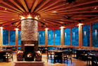 The restaurant at Uma Paro in Bhutan. Photo / COMO Hotels & Resorts