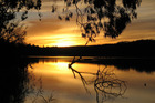 The spellbinding Murray River at sunset. Photo / Thinkstock