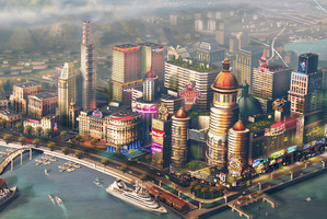 SimCity has been reborn - this time with smog and angry activists. Photo / Supplied