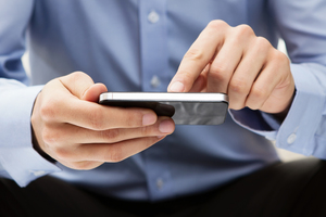 NFC (Near Field Communication) could turn the human body into a data channel for smartphones. Photo / Thinkstock
