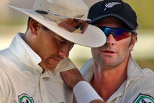 A statement by Daryl Tuffey was used as evidence supporting former teammate Chris Cairns. Photo / Getty Images