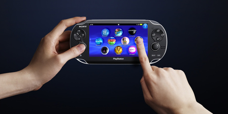 Sony's new PlayStation Vita handheld gaming device. Photo / Supplied