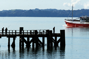 Cornwallis Wharf has been completely refurbished. Photo / NZ Herald