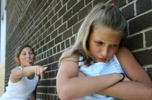 Teasing girls