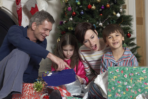 The desire for Christmas gifts could mean a compromise between repayments and savings. Photo / Thinkstock