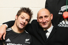 Jock Hobbs with Richie McCaw. Photo / Getty Images
