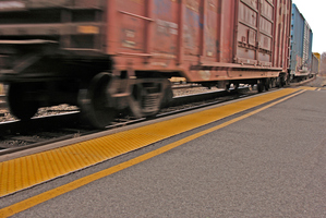 Four girls were fishing on a bridge when the train hit one and another was injured leaping clear. Photo / Thinkstock