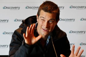 Bear Grylls has reportedly been fired from his hit show Man vs Wild.  Photo / Steven McNicholl