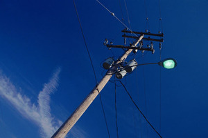 The Wanganui woman reversed into a power pole, then drove into the side of a house. She was sentenced to 140 hours' community work. Photo / Thinkstock