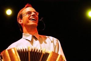 Bandoneon player Per Arne Glorvigen was an assured soloist. Photo / Supplied