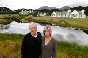 Luxury lodge Wharekauhau in the Wairarapa is one of Bill and Carol Foley's investments in New Zealand.  Mark Mitchell