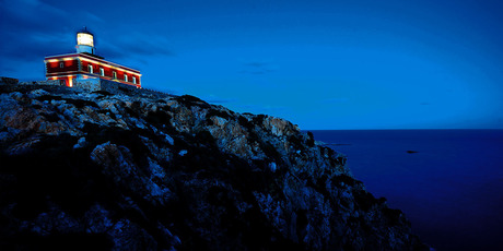 The Capo Spartivento lighthouse in Sardinia Italy. Photo / Supplied