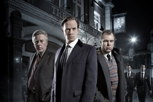 The often eccentric domestic world of the detective's office adds interest to British cop drama Whitechapel.  Photo / Supplied