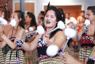 Students rehearse for Polyfest at Otahuhu College, Auckland.  Photo / Steven McNicholl