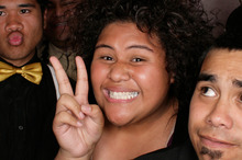 Taiana Pilitati was excited about visiting Samoa for the first time. Photo / Supplied